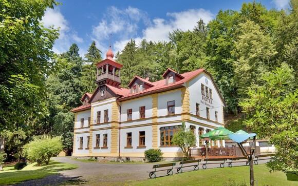 Hotel Pod Šikmou Věží, Český ráj, Prachovské skály