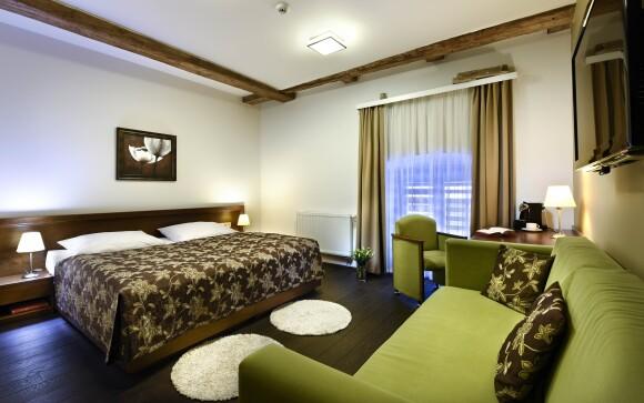 Luxusní pokoje v Hotelu Tvrz Orlice ****