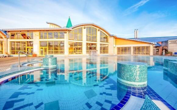 Užite si vstup do kúpeľov, Hotel Aqua ***, Sárvár
