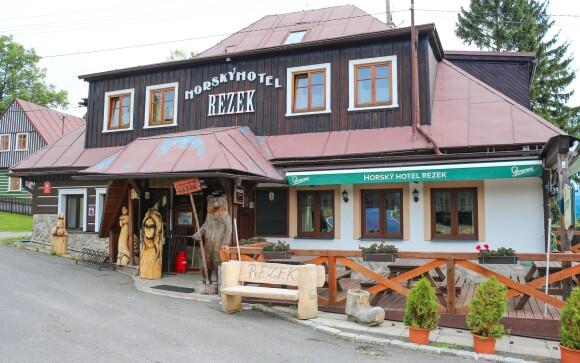 Horský hotel Rezek, Vítkovice, KRNAP