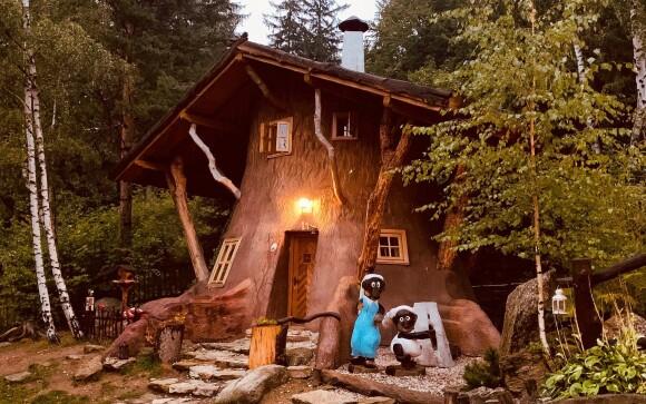 Rozprávková dedinka Podlesíčko, Vysočina, rozprávkový domček