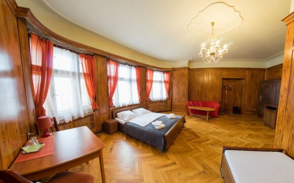 Pokoje, interiéry, Penzion Pivovaru Volt ***, Jizerské hory
