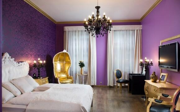 Pokoje Suite jsou opravdu luxusní, Soho Boutique Hotel