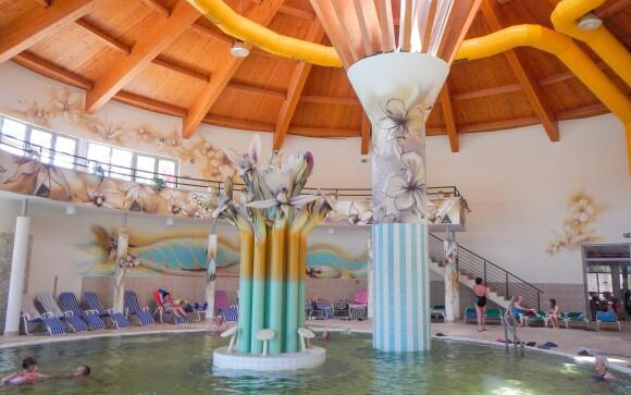 Užite si kúpele Aquarius so vstupenkou zadarmo, Hotel Írisz