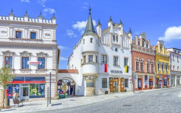 Neďaleký Havlíčkův Brod - historické centrum aj korčuľovanie