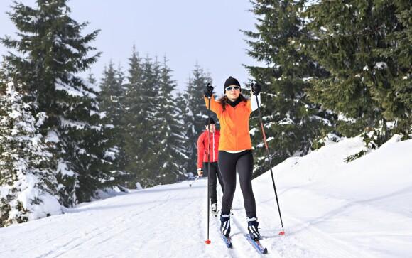 Užite si bežkovanie a lyžovanie na Vysočine