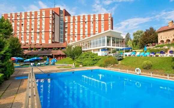 Zažijte ten nejlepší pobyt v Ensana Thermal Aqua Health Spa
