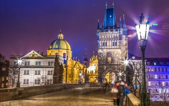Objavte bohémsky pôvab stovežatej Prahy v zime