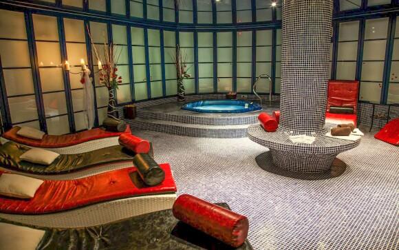 Luxusné wellness s vírivkou v Hoteli Morris Česká Lípa ****