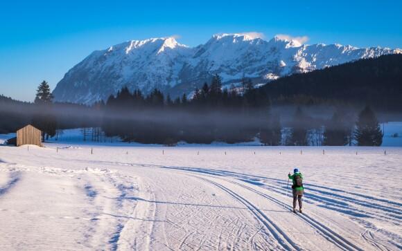 Až 145 km bežeckých tratí na vás čaká okolo Bad Mitterndorf
