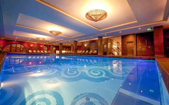 Bazén, Wellness má neuveriteľnú rozlohu 1 000 m²