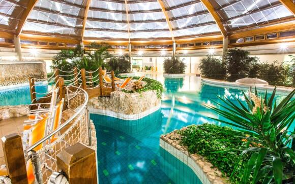 Luxusné termálne kúpele pri hoteli, Gotthard Therme Hotel
