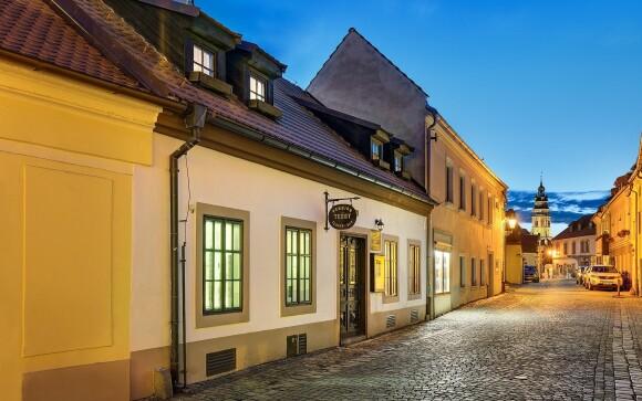 Penzión Teddy stojí v centre Českého Krumlova