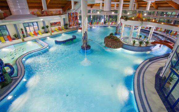 Termálne wellness, bazén, Wellness Hotel Patince ****