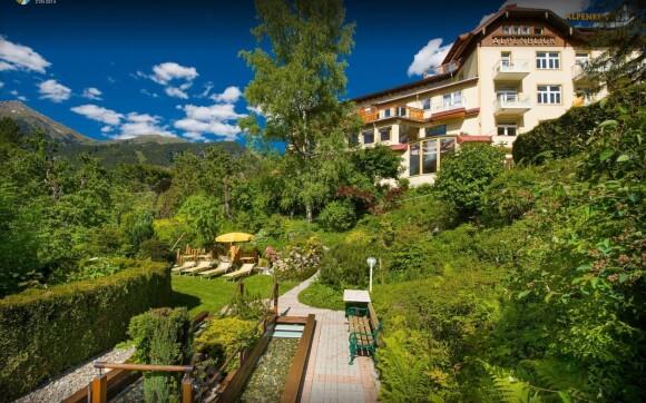 Bad Gastein se pyšní překrásnou přírodou, Hotel Alpenblick