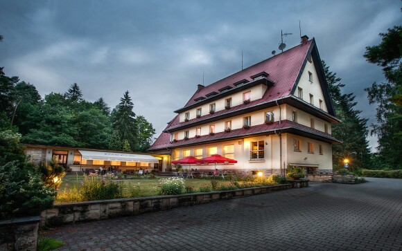 Parkhotel Skalní město *** leží v srdci Českého ráje