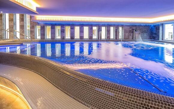 Bazén v Bonvital Wellness & Gastro Hotelu **** Maďarsko