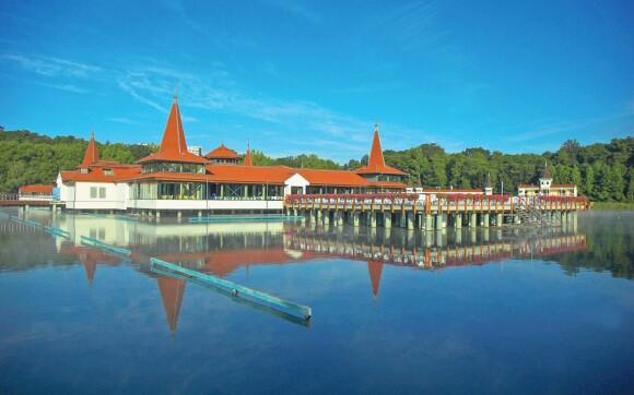 Jezero Hévíz blízko Bonvital Wellness & Gastro Hotelu ****