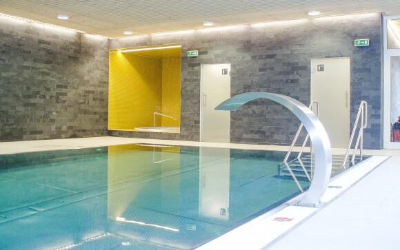 Vo wellness centre na vás čaká bazén a vírivka