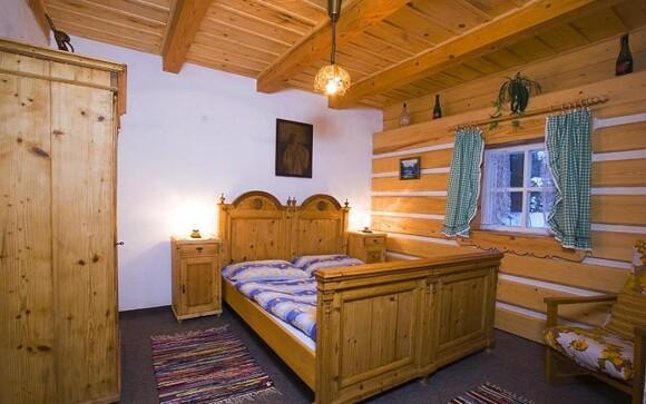 Interiéry pokojů, Penzion Dřevěnka, Harrachov, Krkonoše