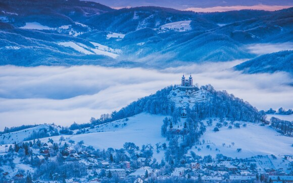 Banská Štiavnica je prekrásna v každom ročnom období