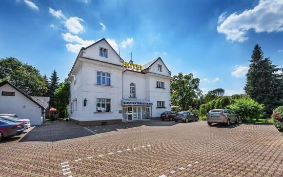 Romantický Hotel Marie-Luisa *** vo vilovej časti Prahy