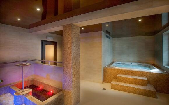 Vo wellness nájdete vírivku, saunu i soľnú jaskyňu
