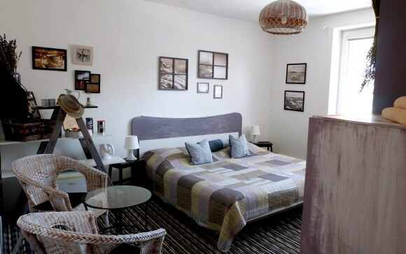 Dvojlôžkové izby sú krásne a komfortné
