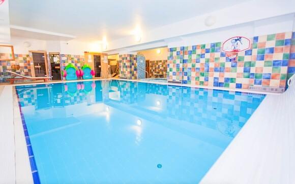 Luxusné wellness, bazén, Boutique Hotel Szárcsa, Maďarsko