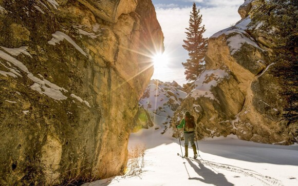 Adršpach je skvelé miesto na zimné športy