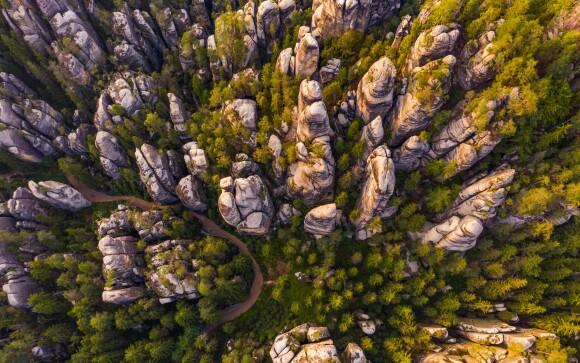 Dovolenka v Adršpašsko-teplických skalách je rozprávková