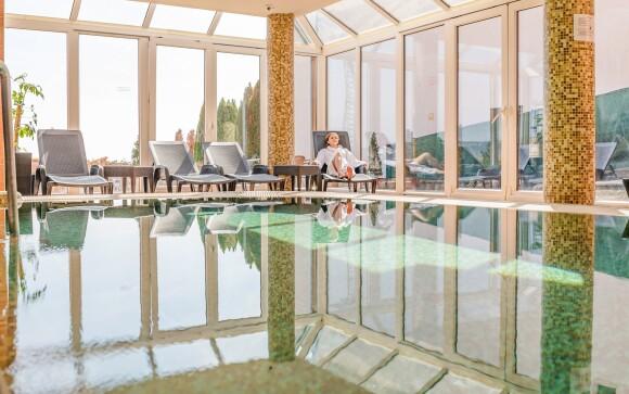 Odpočiňte si ve wellness s krásným panoramatickým výhledem