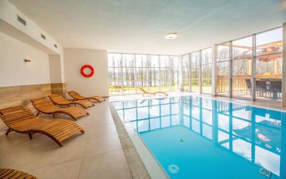 Vnútorný bazén v Hoteli Orsino **** Horní Planá, Lipno
