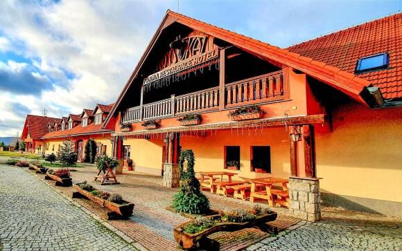 Hotel Farma Vysoká *** leží blízko Jizerských hôr