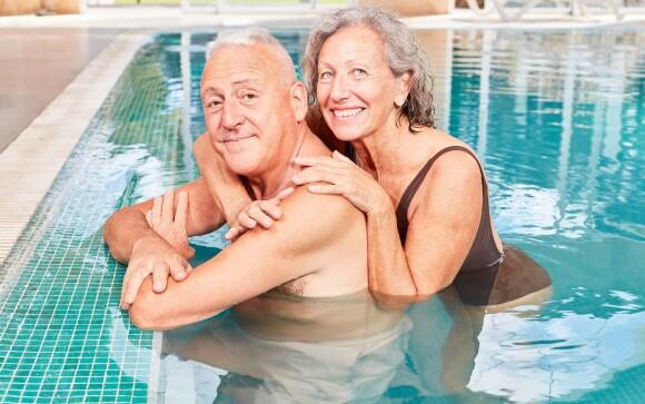 Užijte si vstup do wellness s bazénem