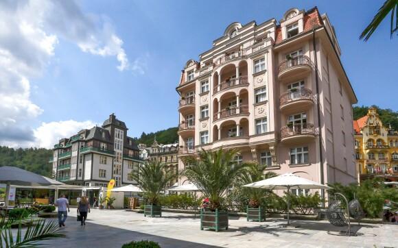 Budova Depandance Wolker ***, Karlovy Vary