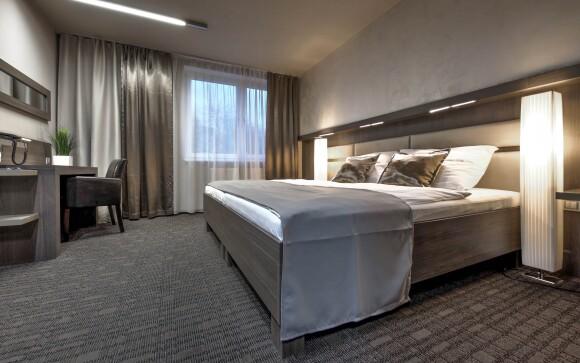 Interiéry pokojů, Volcano Spa Hotel ****, Praha 5 Jinonice