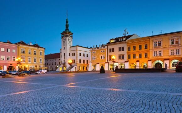 Užite si pobyt v krásnom Kroměříži