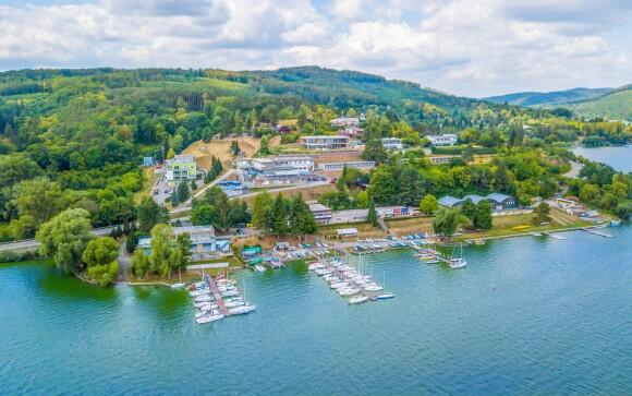 Hotel Rakovec *** u Brněnské přehrady neboli Prýglu