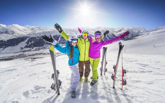Užite si skvelú zimnú dovolenku v Alpách