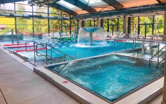 Vodní svět v sousedním Resortu Kyčerka