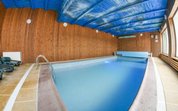 Wellness, bazén, Penzion Grasel *** v Nových Syrovicích