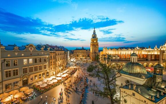 Vychutnajte si krásne centrum Krakova