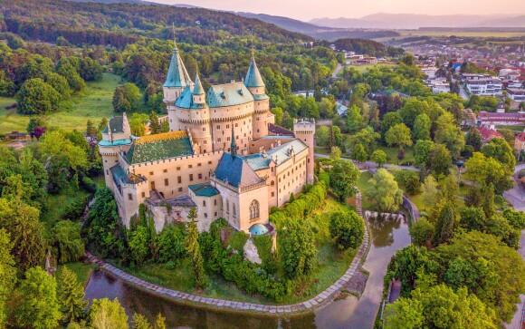 Zámek Bojnice, historické památky Slovensko