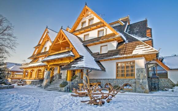 Hotel Toporow *** v obci Białka Tatrzańska blízko Zakopaného