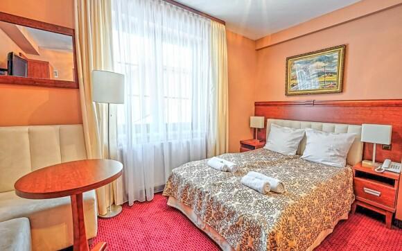 Luxusní pokoj v Hotelu Modrzewiówka *** u Krakova