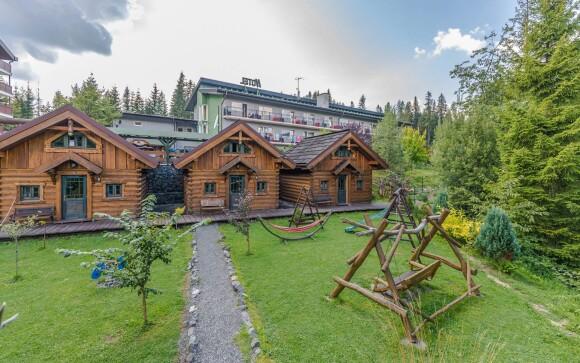 Srubové domečky hotelu Nezábudka, Vysoké Tatry