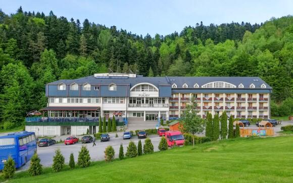 Hotel Plejsy *** leží blízko krásneho Slovenského raja