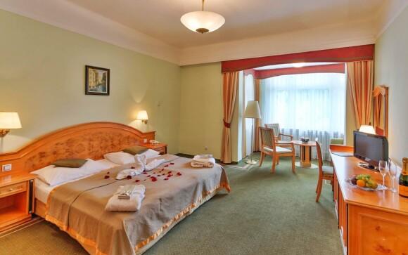 Luxusní útulné pokoje v Parkhotelu Golf Mariánské Lázně ****