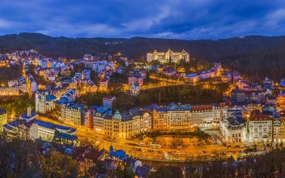Z Hotelu Panorama Spa **** budete mít výhled na centrum